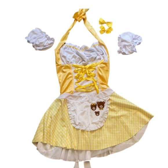 LEG AVENUE storybook Goldilocks Costume M/L